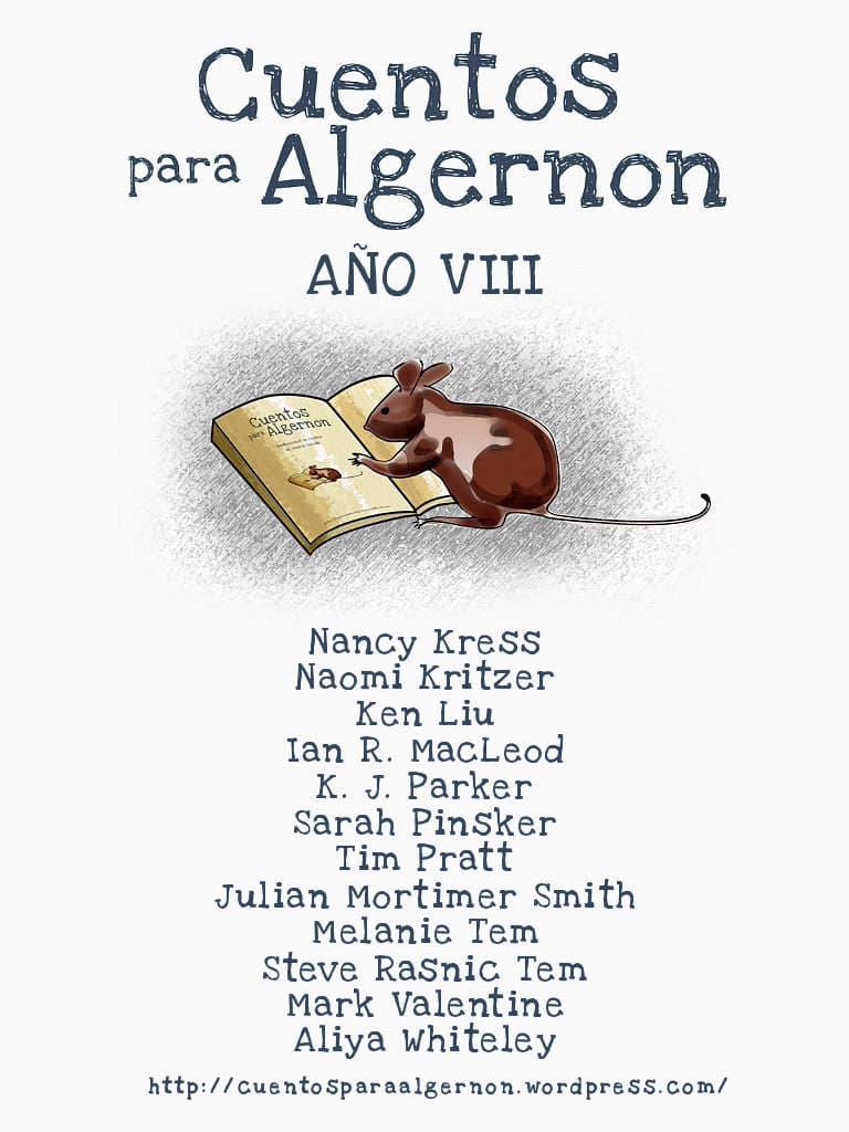 Portada de Cuentos para Algernon: Año VIII