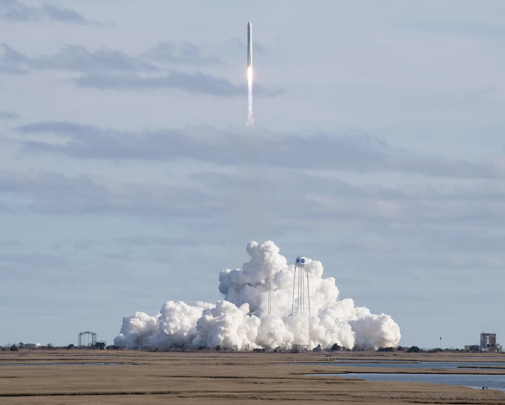 Despegue de la Cygnus 13 - NASA