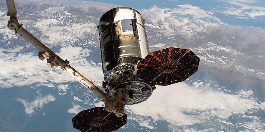 Partida de la cápsula - NASA
