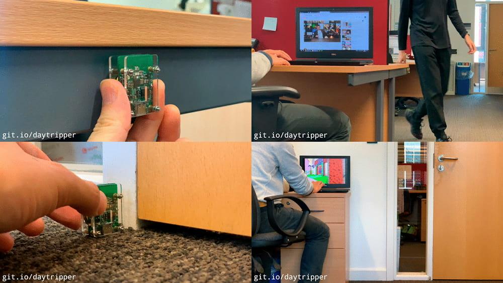 Daytripper: Hide-My-Windows Laser Tripwire