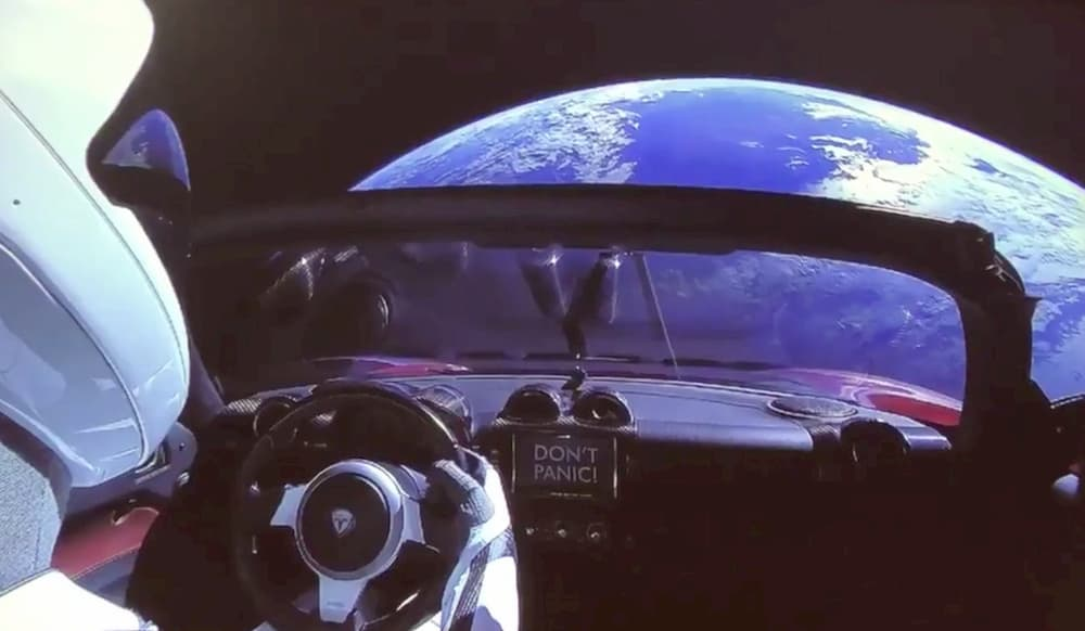 Don't panic - SpaceX