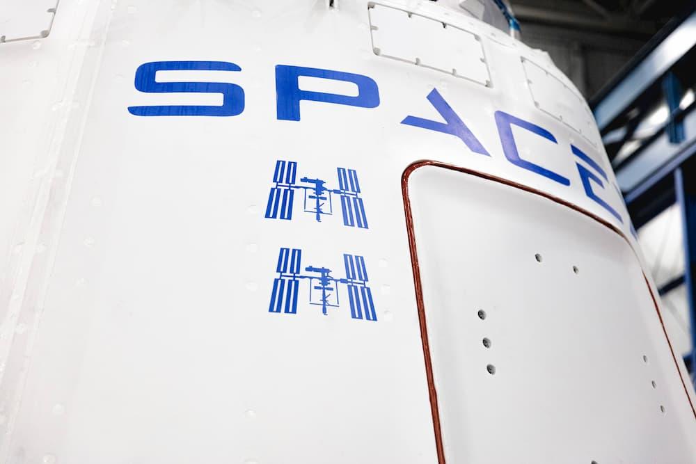 Marcas de las misiones anteriores – SpaceX