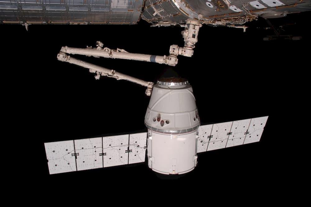 La primera Dragon a su llegada a la EEI – NASA