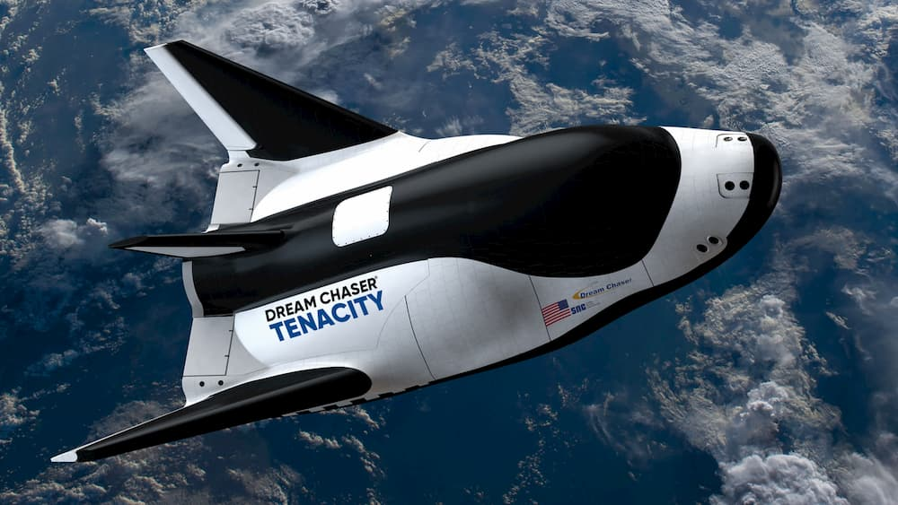 Imprsión artística de tenacity en el espacio – SNC
