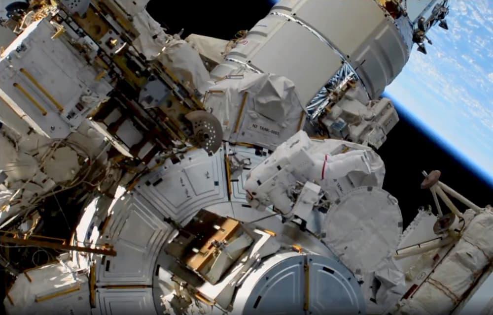 Jessica Meir a punto de entrar de vuelta en la EEI - NASA