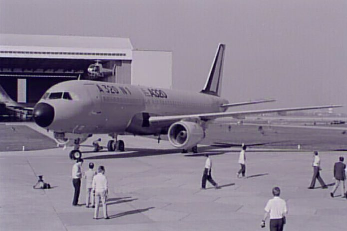 El primer A320 – Airbus