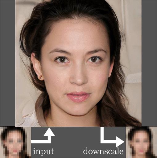 Face-Depixelizer