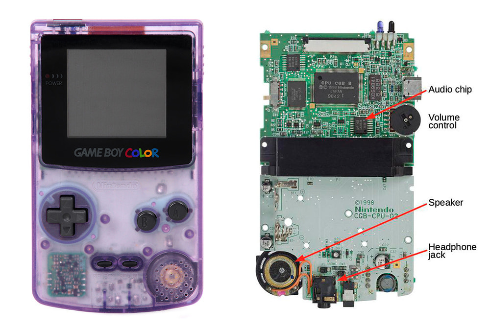 Reverse-engineering the audio chip in the Nintendo Game Boy Color