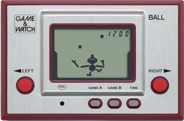 Game & Watch Ball de 1980 – Nintendo