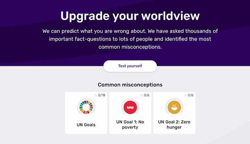 Gapminder Worldview Upgrader
