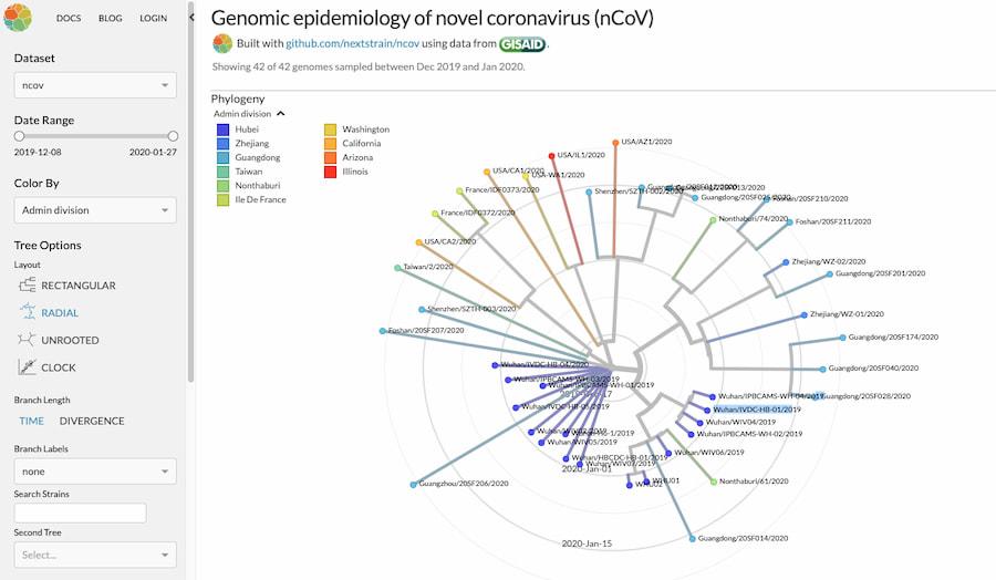 Epidemiología genómica del nuevo coronavirus (nCoV-2019)