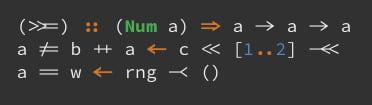 Hasklig Font