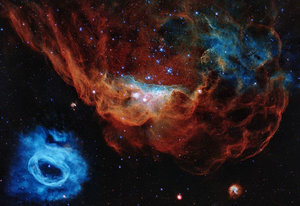 Imagen que celebra el 30 aniversario del Hubble – NASA, ESA, and STScI
