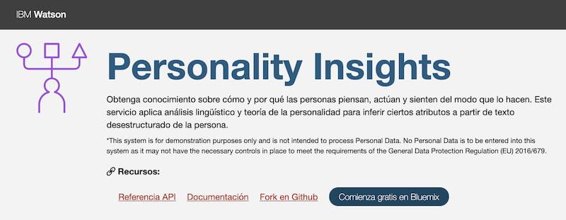 Test de Personalidad de IBM
