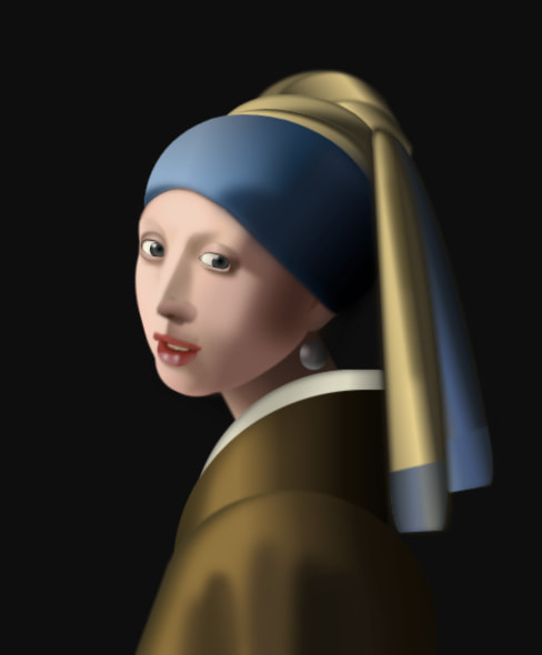 La joven de la perla / Vermeer / Louise Flanagan