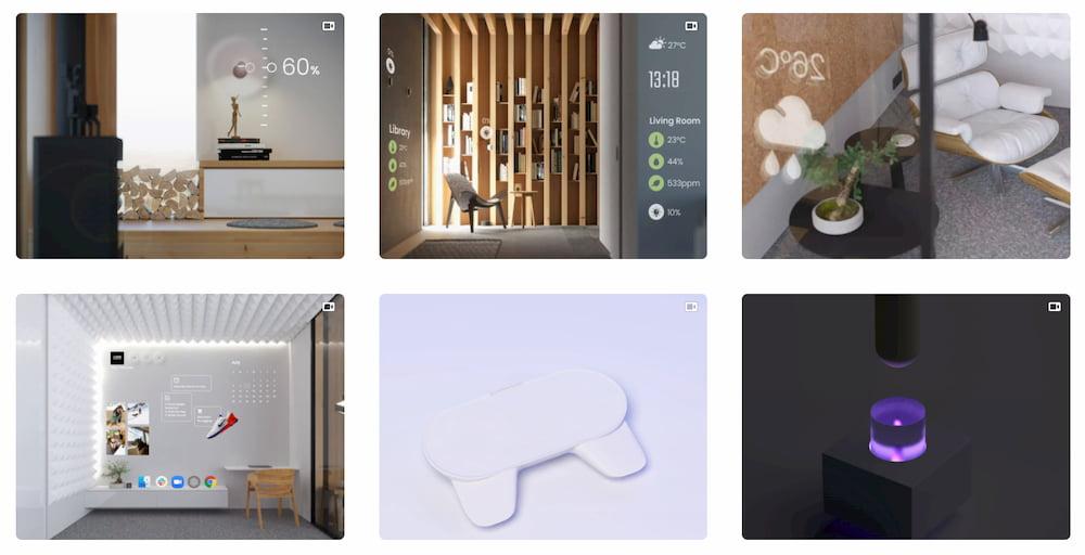 Los impresionantes conceptos visuales e interfaces de realidad aumentada/virtual de Volodymyr Kurbatov
