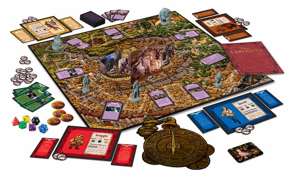 «Dentro del laberinto», de Jim Henson, en versión juego de tablero / Riverhorse.eu