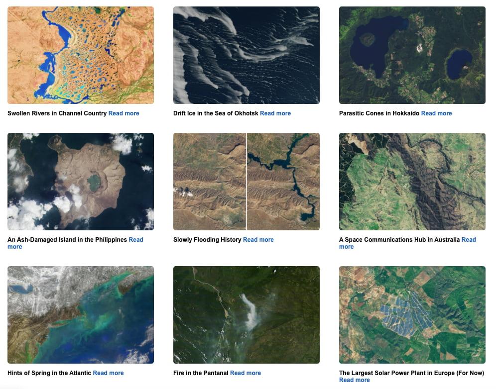 Our Earth as Art / NASA