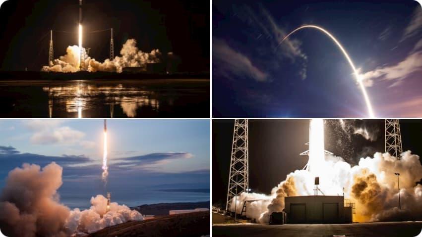 Lanzamientos anteriores de la B1049 – SpaceX