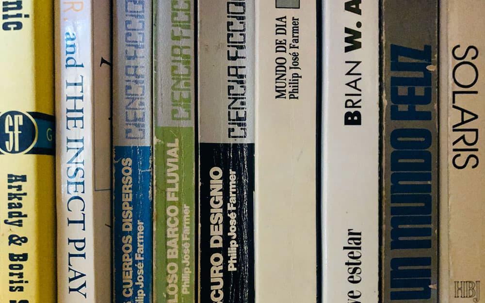 Algunos libros de ciencia ficción