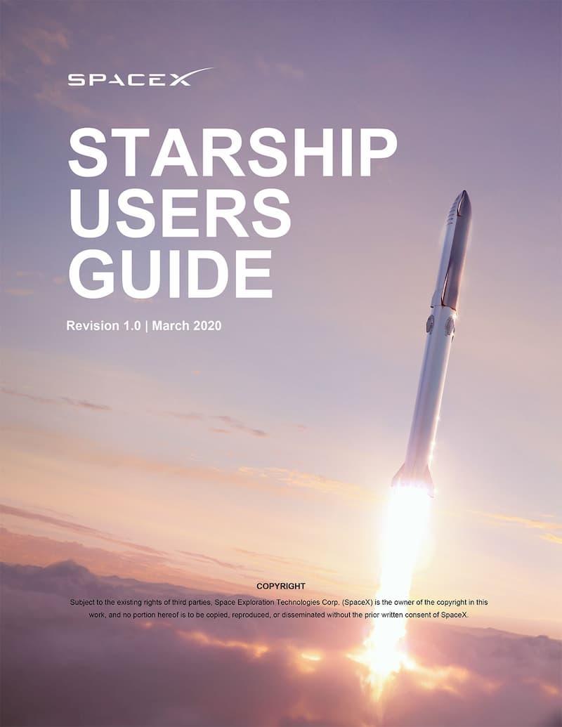 Portada del manual del Starship