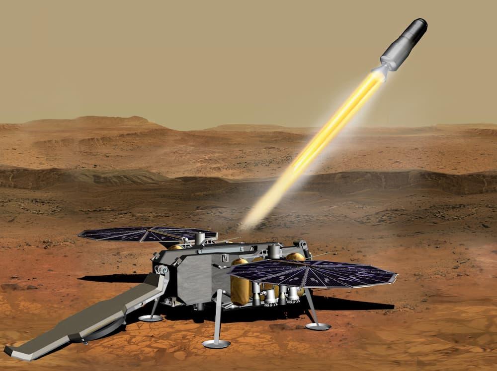 Despegue del MAV – NASA JPL Caltech