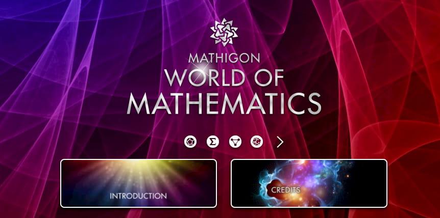 El Mundo de las Matemáticas de Mathigon