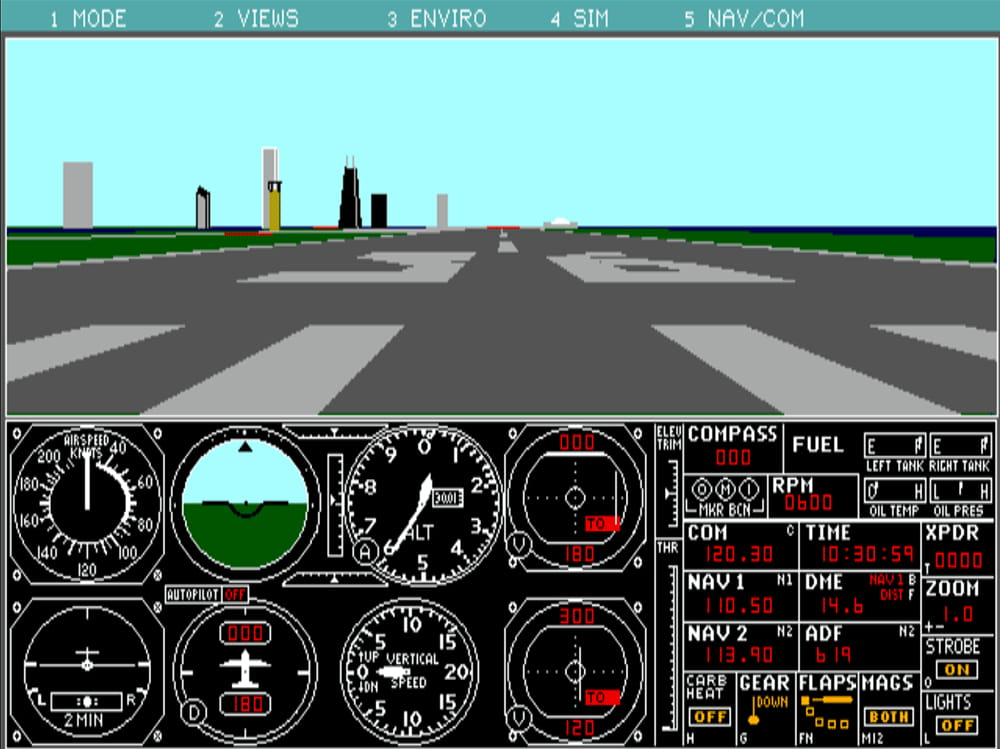 The History of Microsoft Flight Simulator