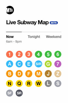 NYC MTA - The Map / Work and Co