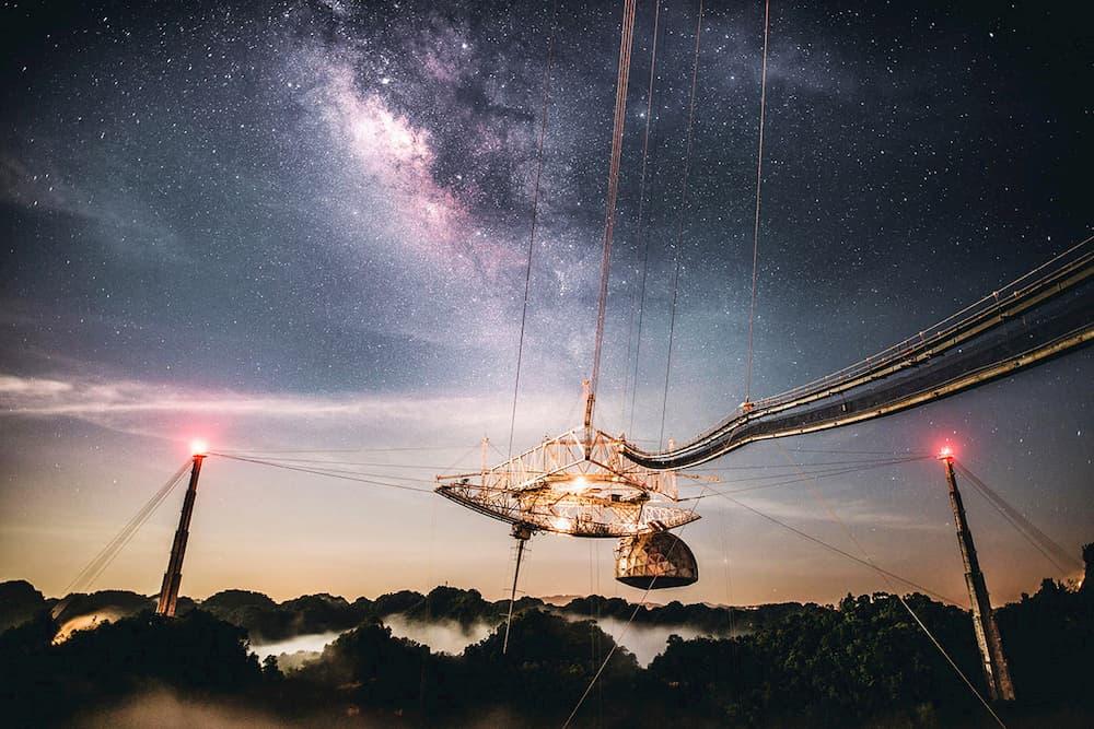 El observatorio bajo la Vía Láctea – Universidad Central de Florida