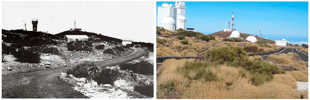 El observatorio de Tenerife a lo largo de 35 años (1971-2006) / Dr. Brian May