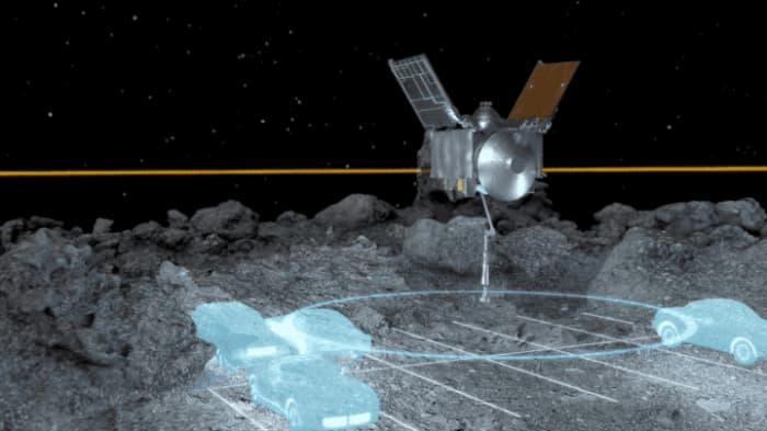Simulación del espacio del que dispone la sonda en Nightingale – NASA