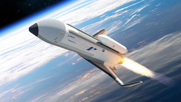 Impresión artística del Phantom Express – Boeing
