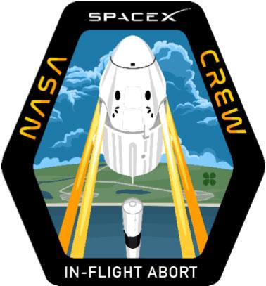 Parche de la misión – SpaceX