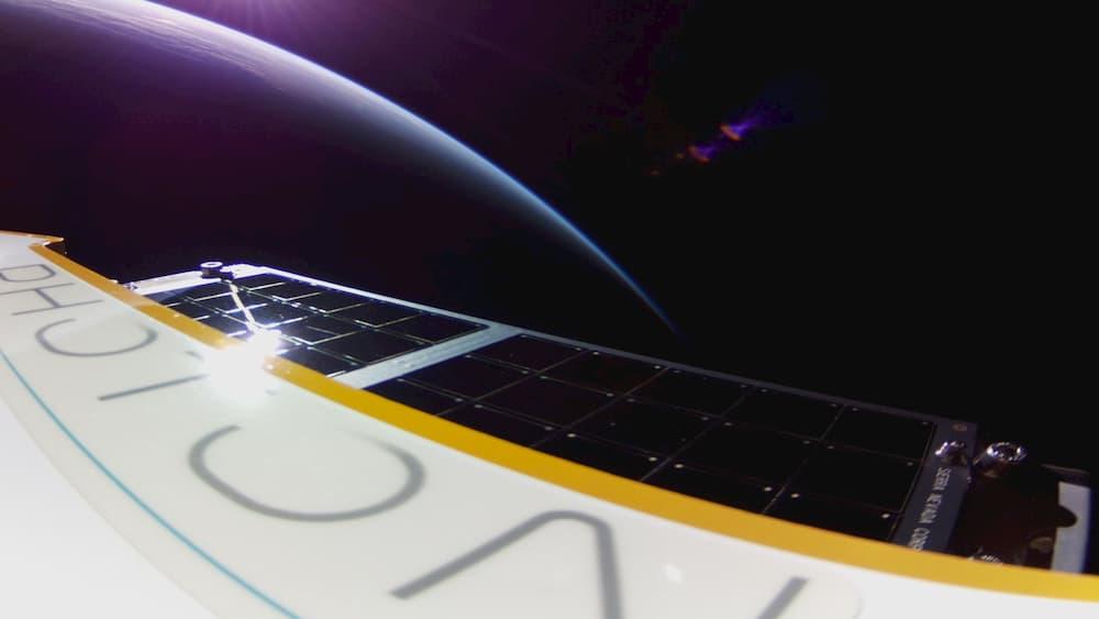 Foto enviada por Fisrt Light desde el espacio - Rocket Lab