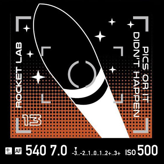 Logo de la misión - Rocket Lab