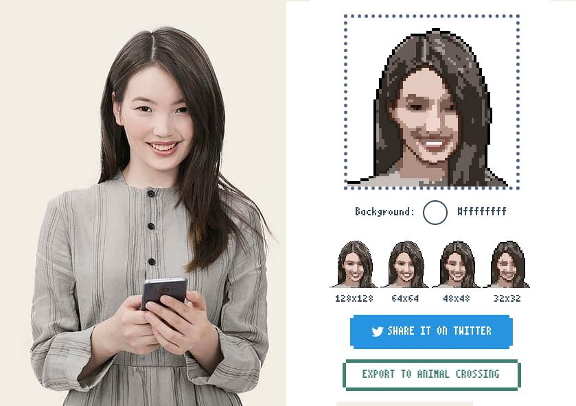 PixelMe: Convert your photo into pixelart.