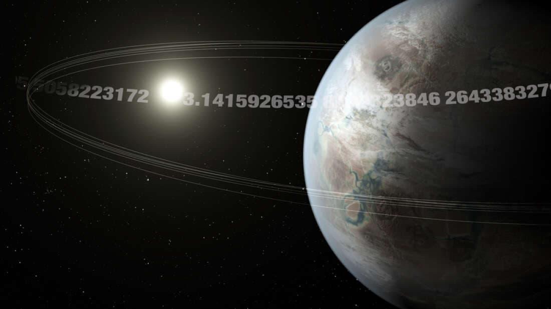 Impresión muy artística del planeta Pi