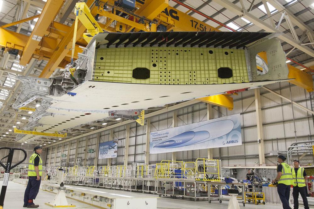 Planta de Airbus en Broughton, Gales - Jane Widdowson/Airbus