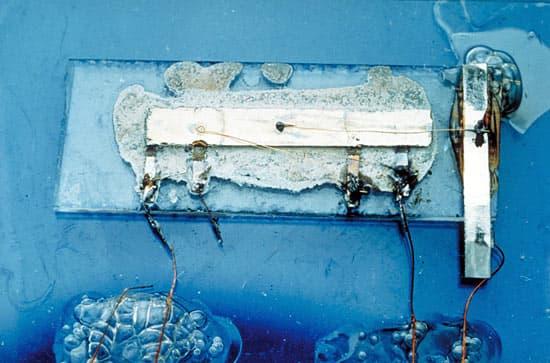 El prototipo de Kilby - Texas Instruments