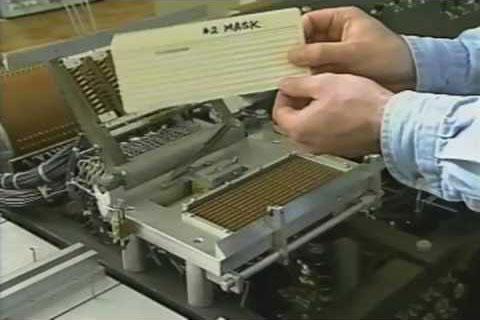 El Atanasoff Berry Computer en funcionamiento