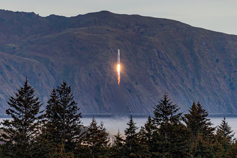 Rocket 3.1 despegando – Astra