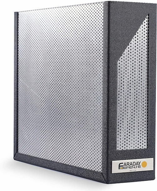 Jaula de Faraday protectora para router
