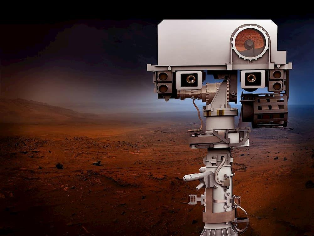 «Cabeza» del rover – NASA/JPL
