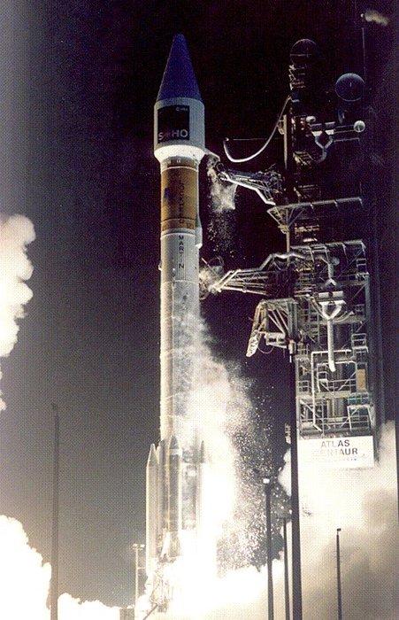 Lanzamiento del SOHO – ESA/NASA