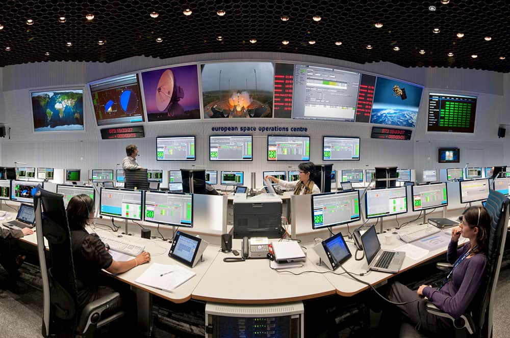 Sala principal de control del ESOC
