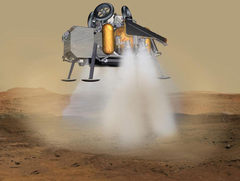 Aterrizaje del Sample Retrieval Lander – NASA JPL Caltech