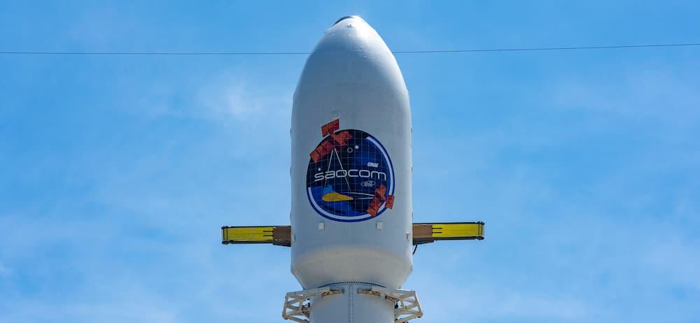 Cofia del Saocom - SpaceX