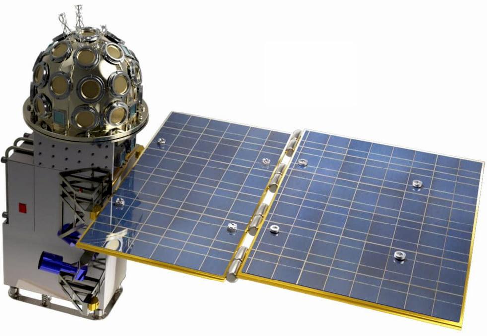 Uno de los satélites GECAM – Academia China de las Ciencias