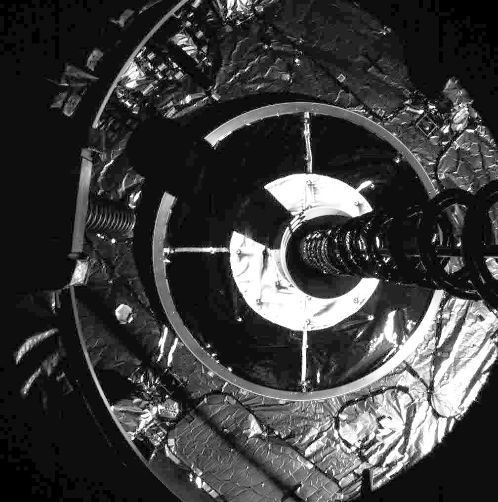 MEV-1 a punto de realizar la captura – Northrop Grumman